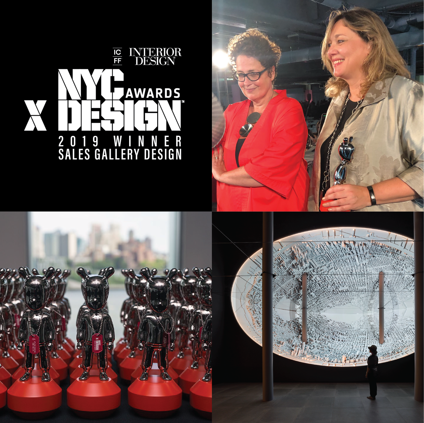 The XI Visionaries Gallery NYCxDESIGN 2019 Awards Sales Gabellini Sheppard Associates Interior Design