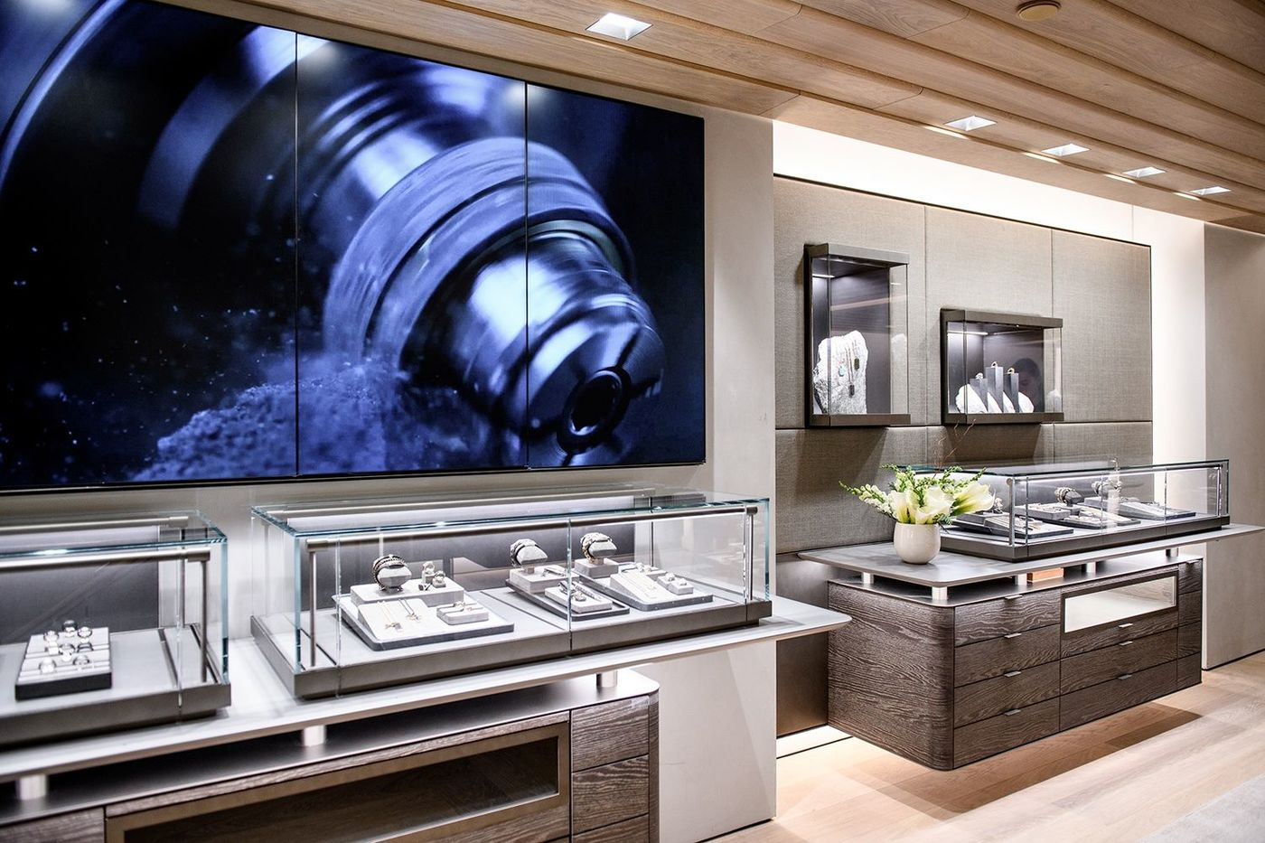 Gabellini Sheppard Associates David Yurman DY57 Flagship New York City