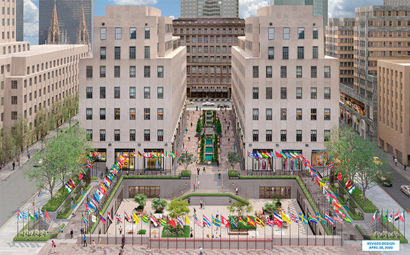 Gabellini Sheppard Associates Reveals Revamp Of Rockefeller Center's Outdoor Lighting Scheme