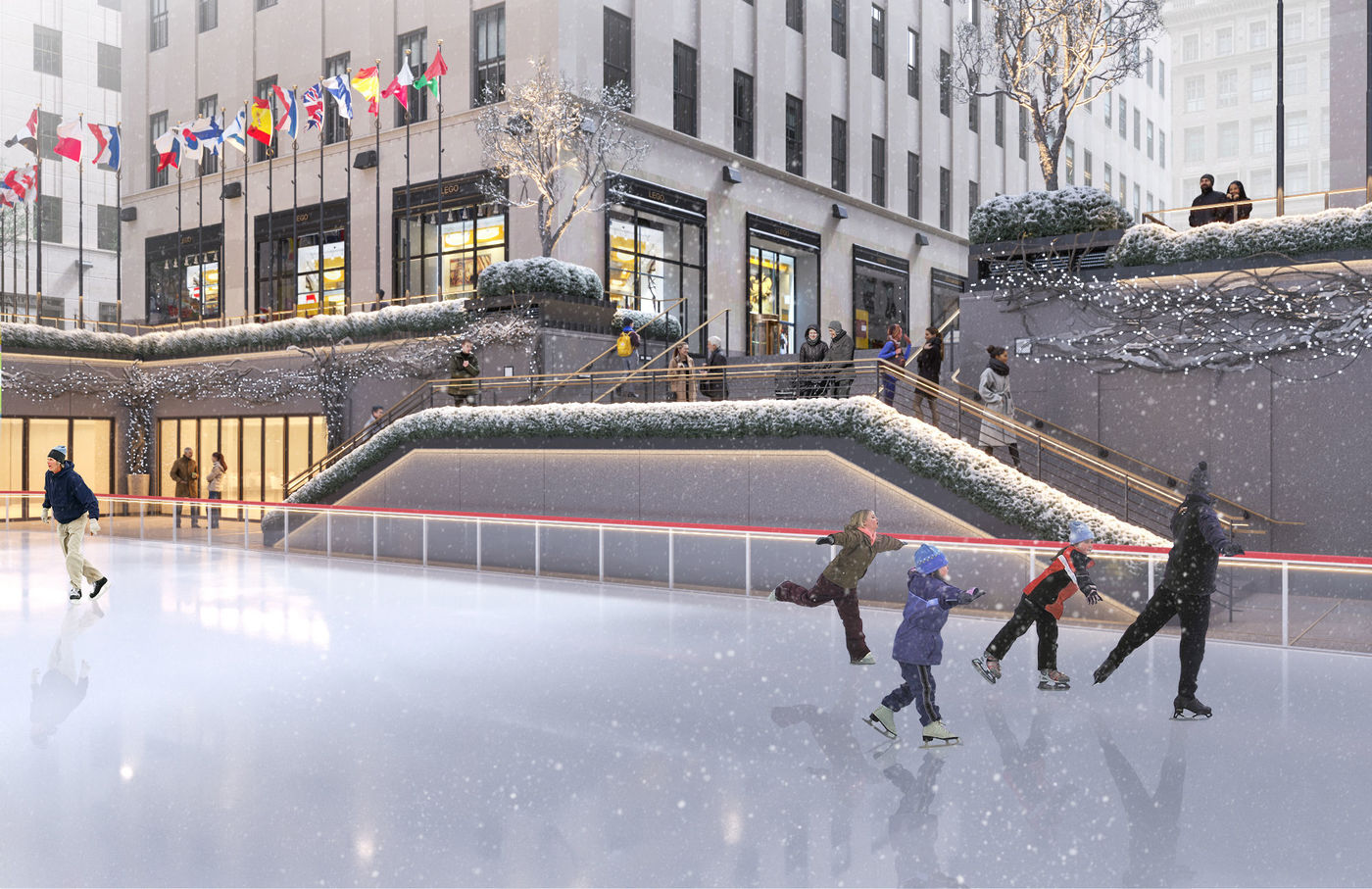 Rockefeller Center Ice Rink Renovation