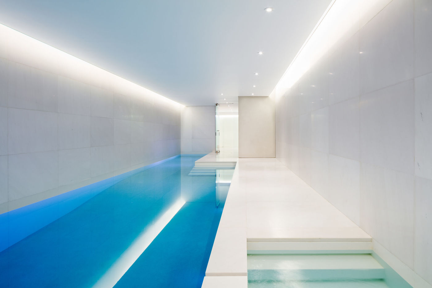 Upper East Side Residence indoor pool